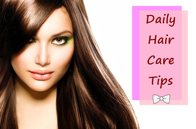 daily hair care tips