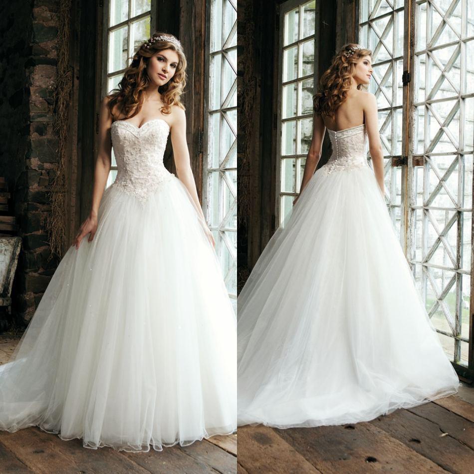 waist ball wedding gown