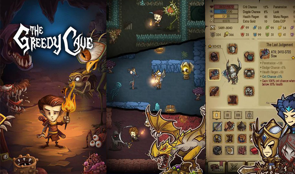 review of The Greedy Cave game