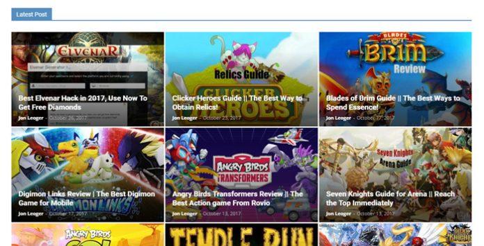IGoGam Homepage