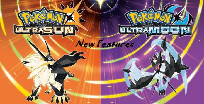 pokemon ultra sun and moon new features