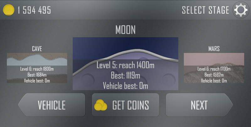 hill climb racing stage