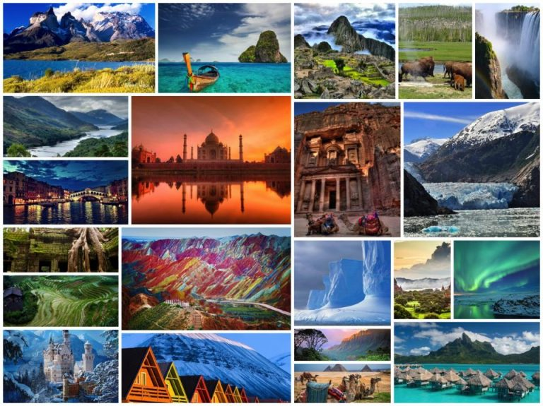 The Best Places In The World | Most Beautiful and Awesome Destinations