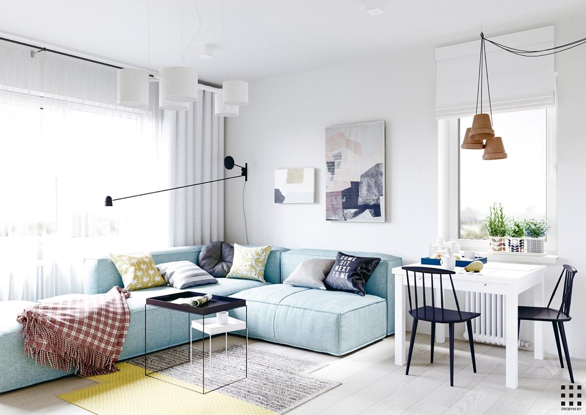 Scandinavian apartment design