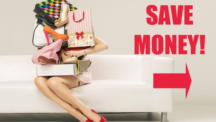 how to save money on shopping