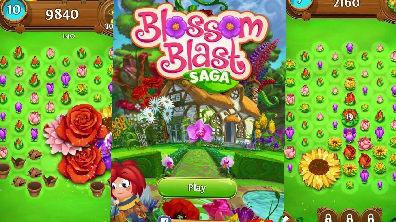 Blossom Blast Saga game trick
