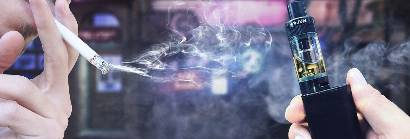 the differences between vaping and smoking