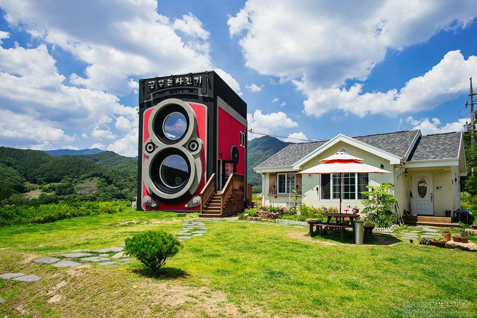 Dreamy Camera Cafe in Yangpyeong, South Korea