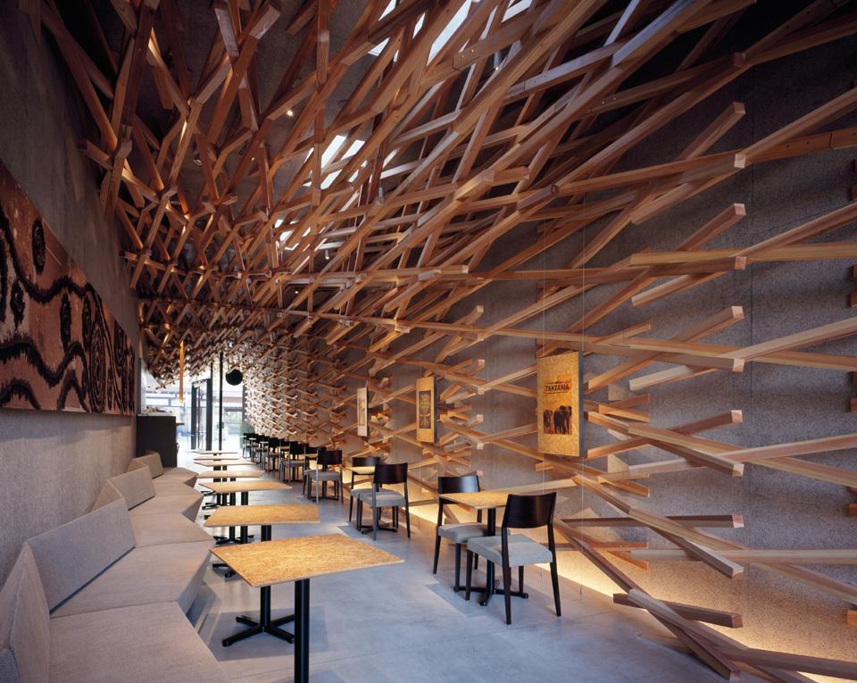 Wooden Stick Starbucks
