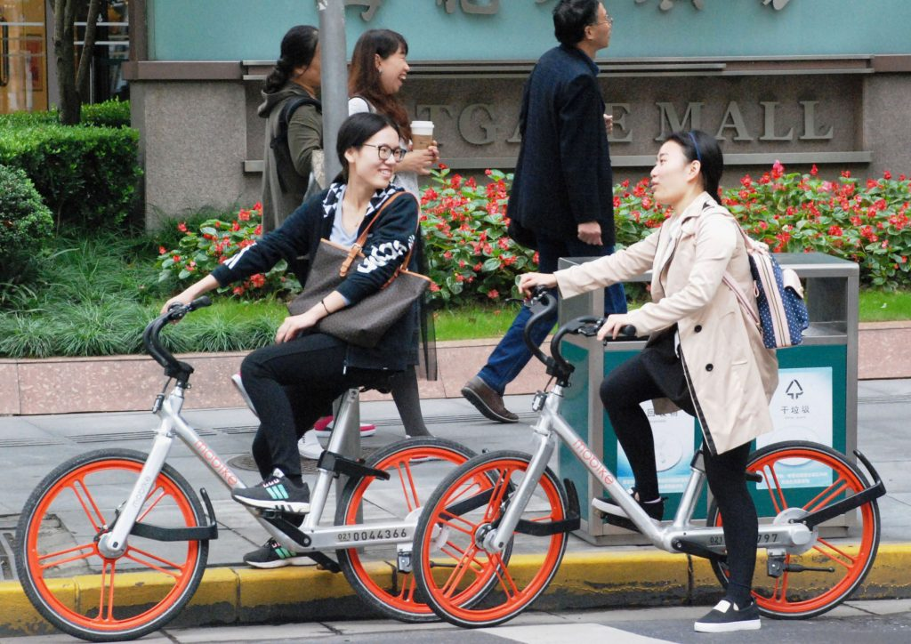 bicycles should not for riding in Japan
