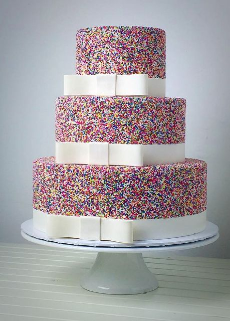 cute-and-colorful-wedding-cake-with-sprinkles