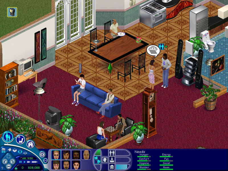 the sims game
