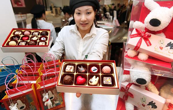 valentine days in Korea