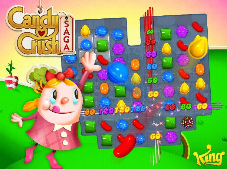 candy crush gameplay