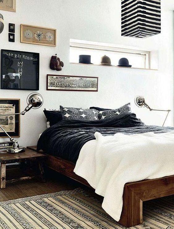 White Man Bedroom