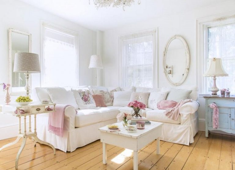 Modern Shabby Chic Interior Design Ideas