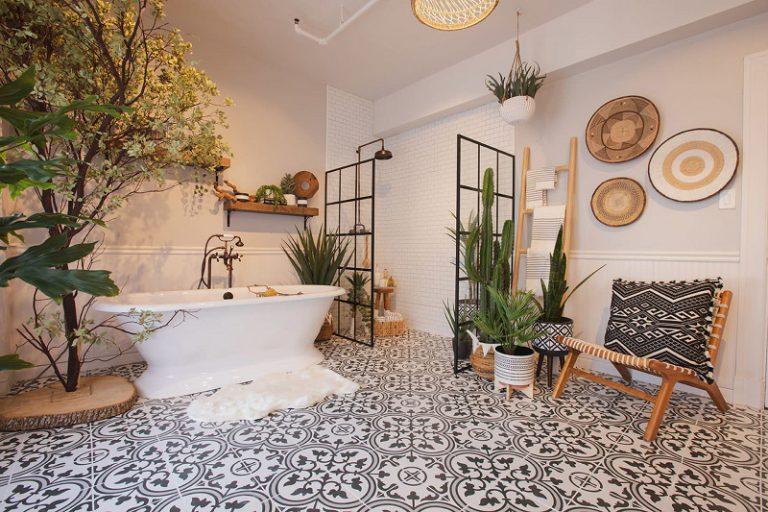 Decorating Your Small Bohemian Bathroom