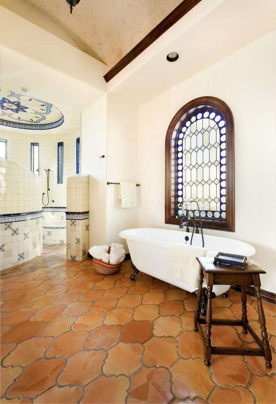 Mediterranean bathroom