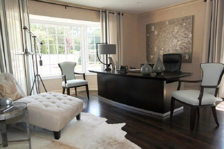 An Elegant Home Office That Provides For Your Career
