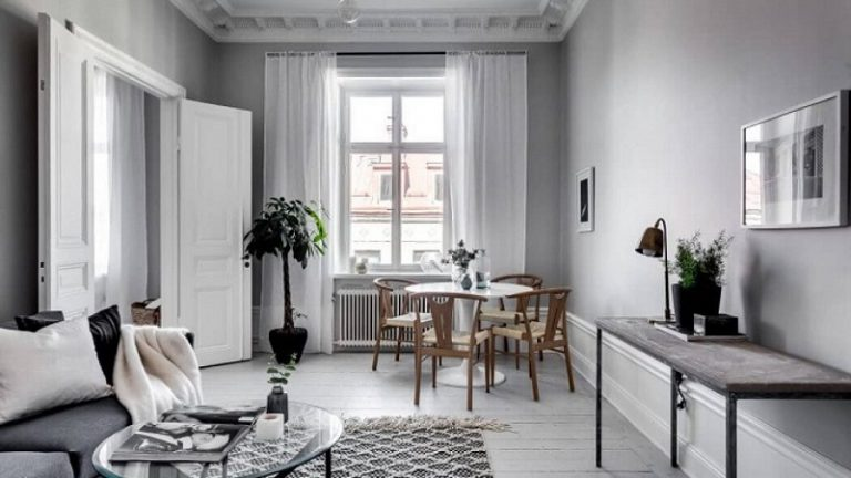 How to Create the Perfect Small Monochrome Apartment