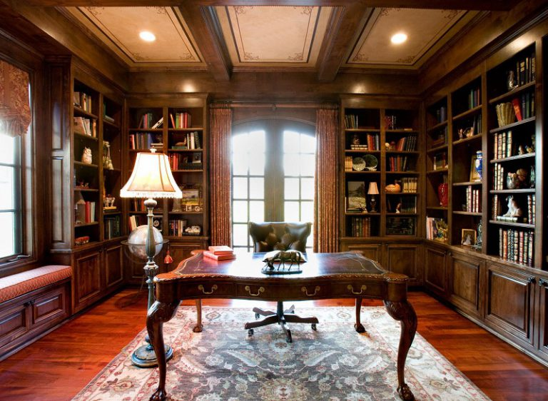 Traditional Study Rooms