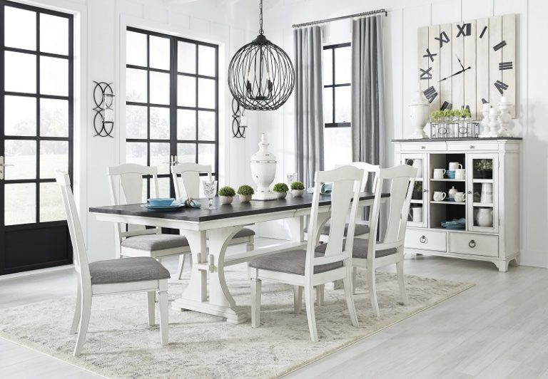 How To Make A White Dining Room Look Classy