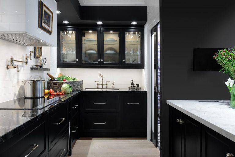 Monochrome Kitchen Cabinets – Routine Maintenance