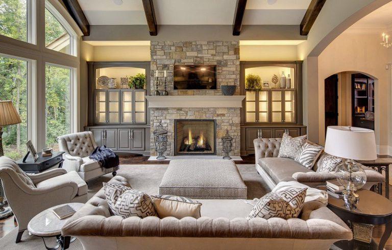Inspirational Rustic Living Room Decoration Ideas
